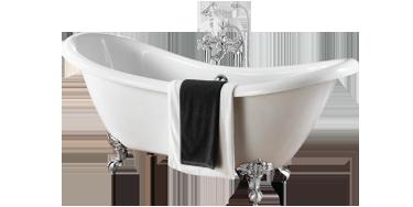 Roll-Topp-baths