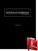 EH Solid Surface prijslijst exl btw