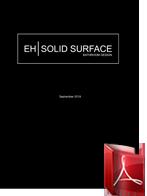 EH Solid Surface prijslijst exl btw